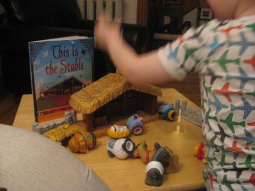 Little-people-manger-scene-of-destruction