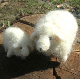 Needle-felted-sheep