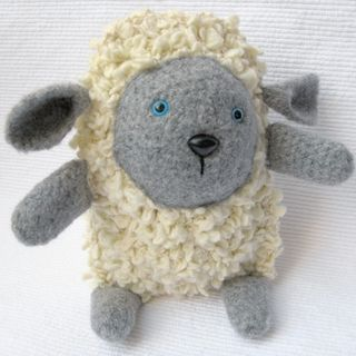 Crochet-lamb