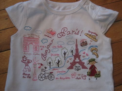 Paris-t-shirt