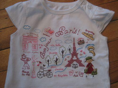 Paris-t-shirt