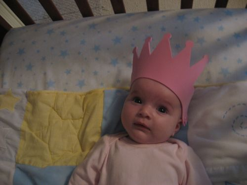 Sylvie-baby-wearing-pink-crown