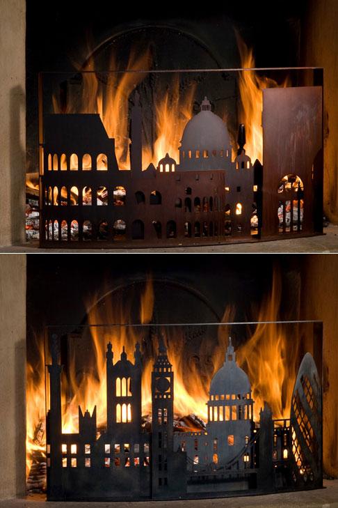 London-and-Rome-burning-firescreens