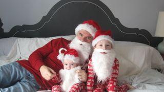 Santas-dad-kids