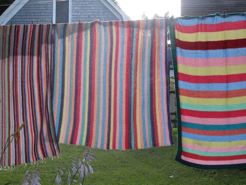Striped-blankets-on-clothesline-6