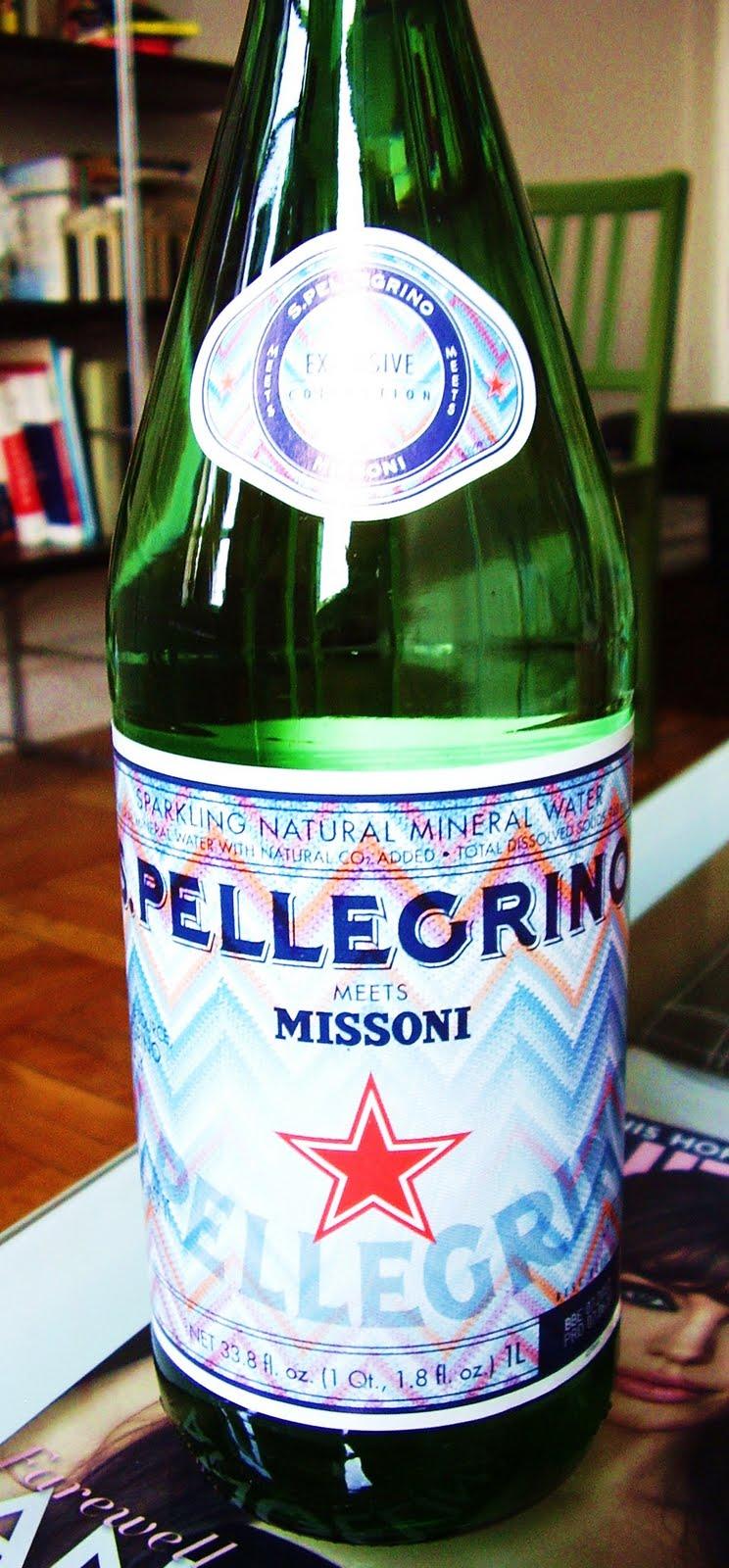 Striped-missoni-san-pellegrino-bottle