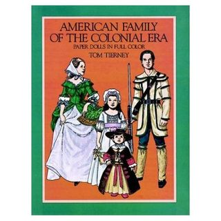 Colonial-american-family-paper-dolls