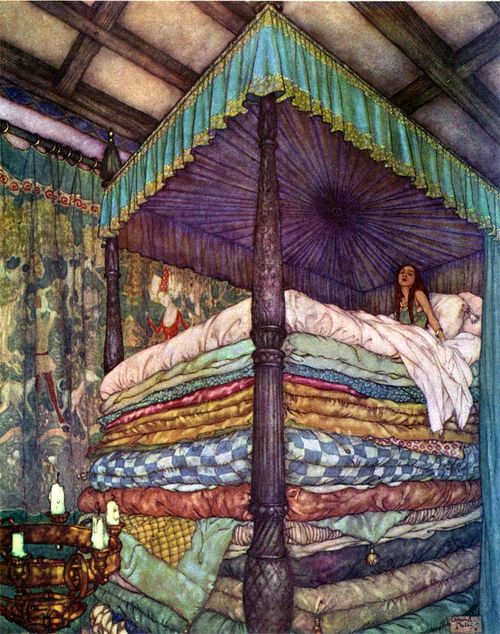 Edmund-dulac-princess-and-the-pea