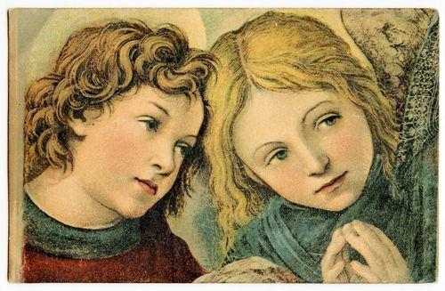 Vintage-postcard-angel-Luke