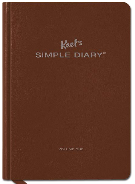 Keels-simple-diary-cover