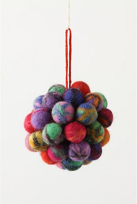 Wool-pompom-christmas-ornament