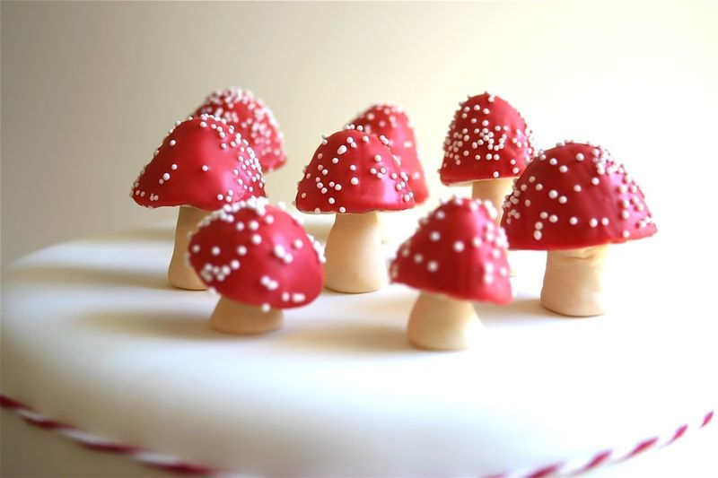 Chocolate-filled-red-mushrooms