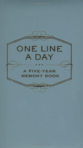 One-line-a-day-memory-book