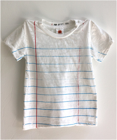 Looseleaf-t-shirt