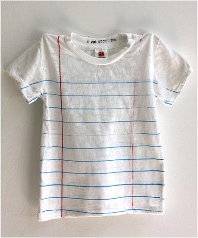 Looseleaf-t-shirt