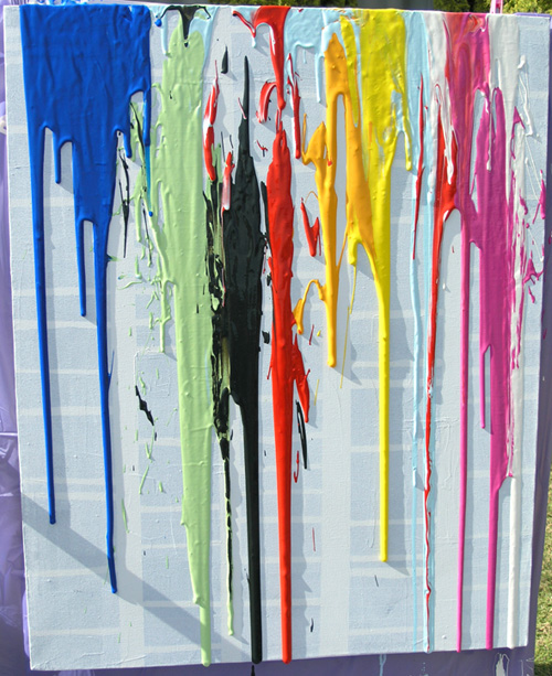 Dripping-with-paint
