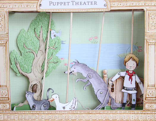 Paper-puppet-theatre-peter-and-the-wolf