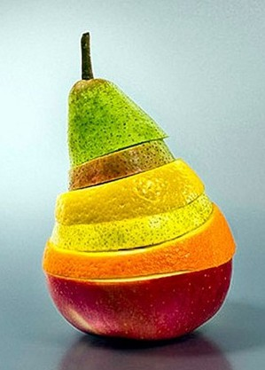Layered-fruit