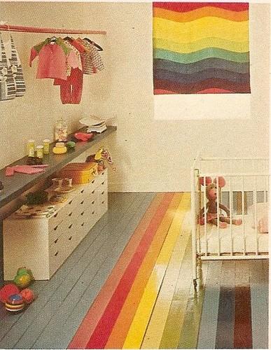 Rainbow-striped-nursery-better-homes-and-gardens-1975