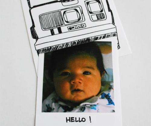 Polaroid-photo-frame