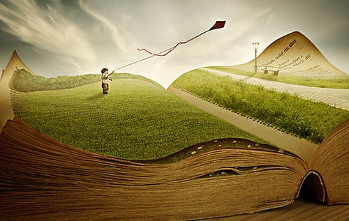 Landscape-in-a-book
