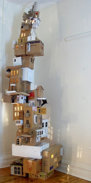 Annalise-rees-cardboard-tower