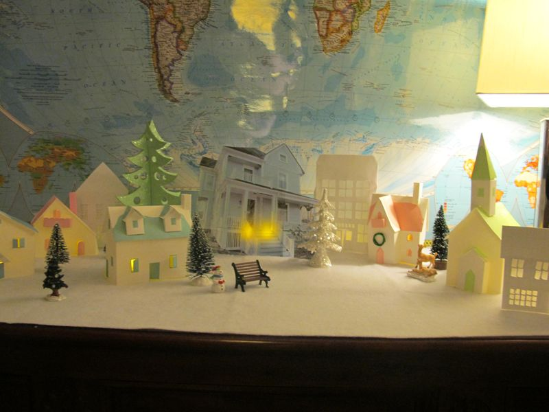 Paper-village-crooked-house
