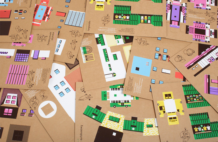 Paper-town-templates