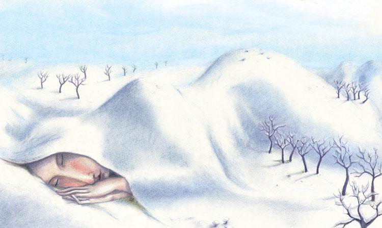Sleeping-in-winter