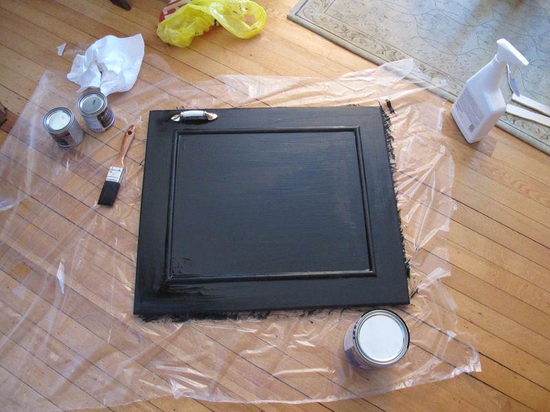 Chalkboard-cabinet