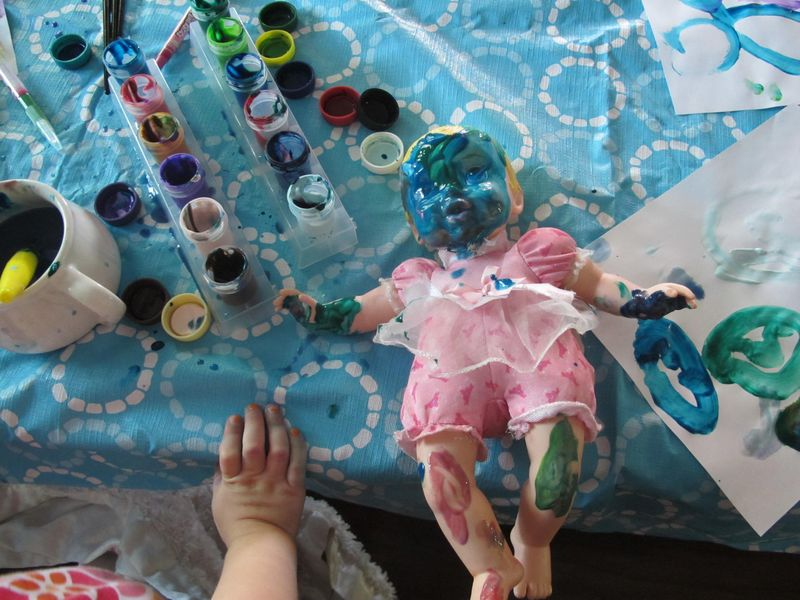 Vivis-painted-doll