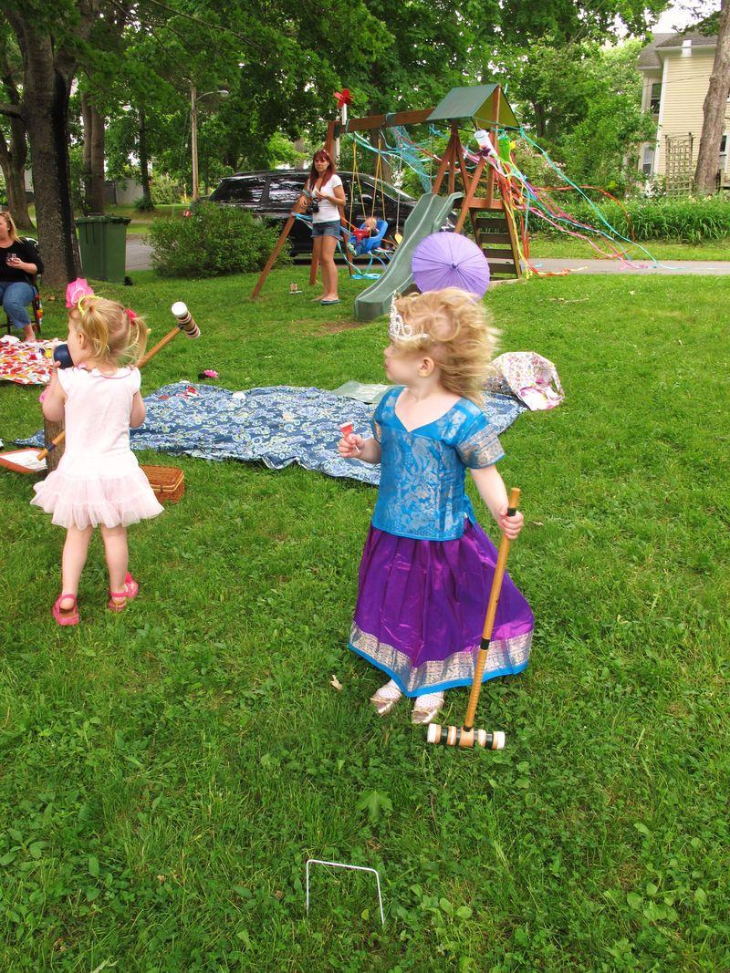 Croquet-girls