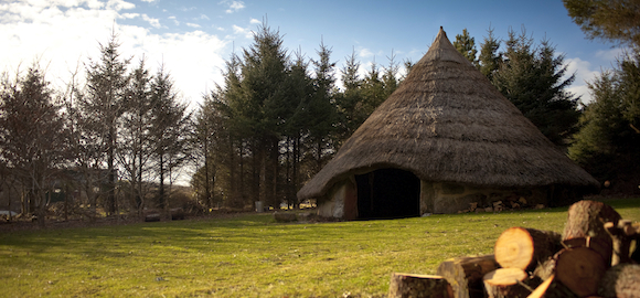 Glamping-iron-age-roundhouse