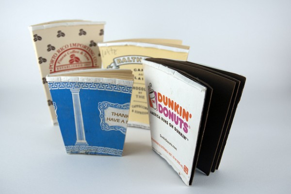 Upcycled-coffee-cup-notebooks