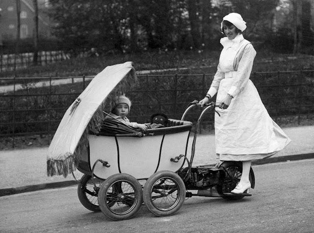 Motorized-pram