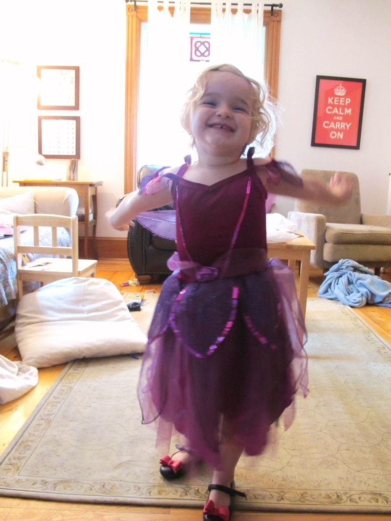 Sylvie-loves-her-fairy-dress