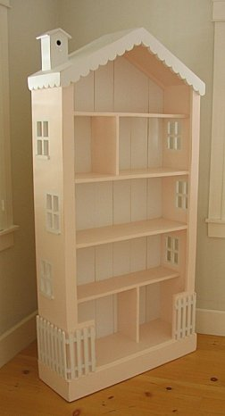 Dollhouse-bookcase