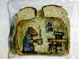 Sandwich-bag-mouse-house