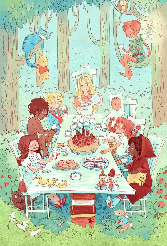 Kidlit-tea-party