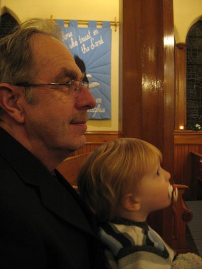 Luke_and_grandpa_at_church_christ_2