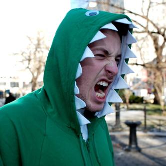 Dinosaurhoodie  sc 1 st  Crooked House & crooked house: Homemade Halloween Costume: Dragon Hoodie